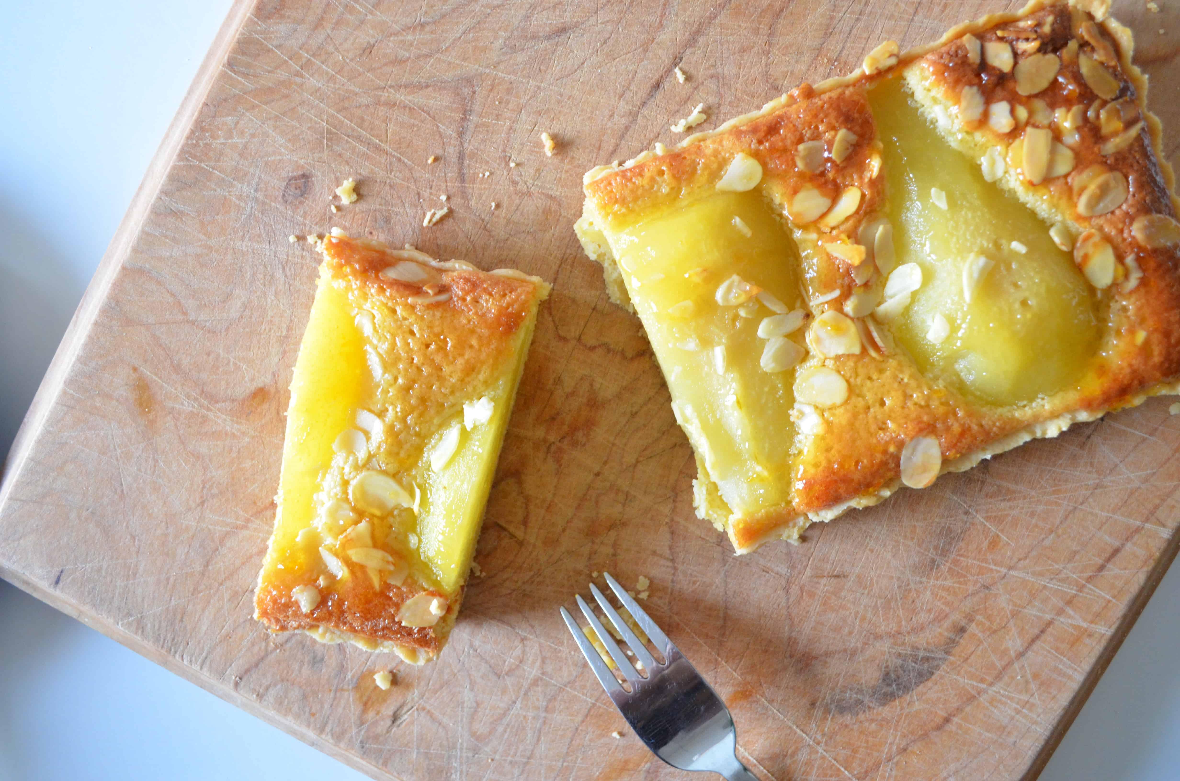 Pear and Frangipane Tart | Baking With Aimee