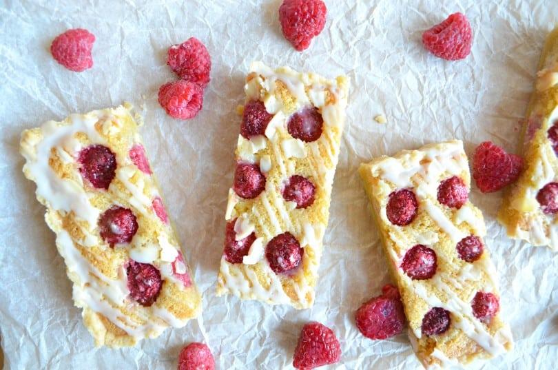 Raspberry and Frangipane Tart with Lemon Drizzle