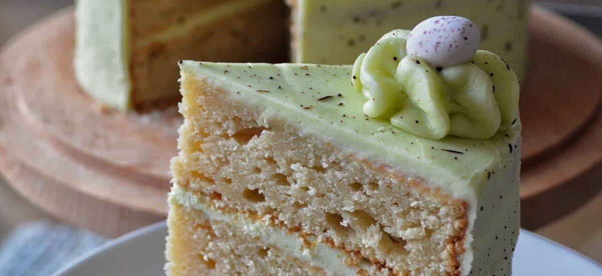 Speckled Egg Layer Cake