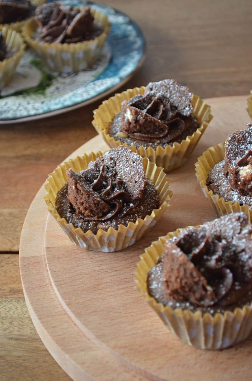 chocolate butterfly cakes