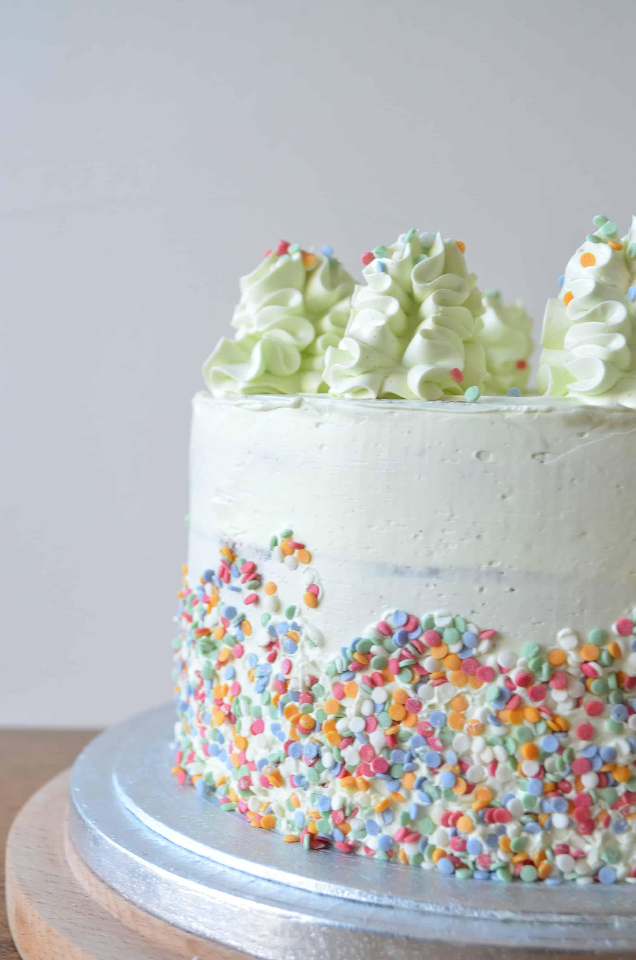 Raspberry & Almond Layer Cake