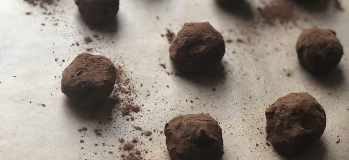 Caramel Rye Truffles
