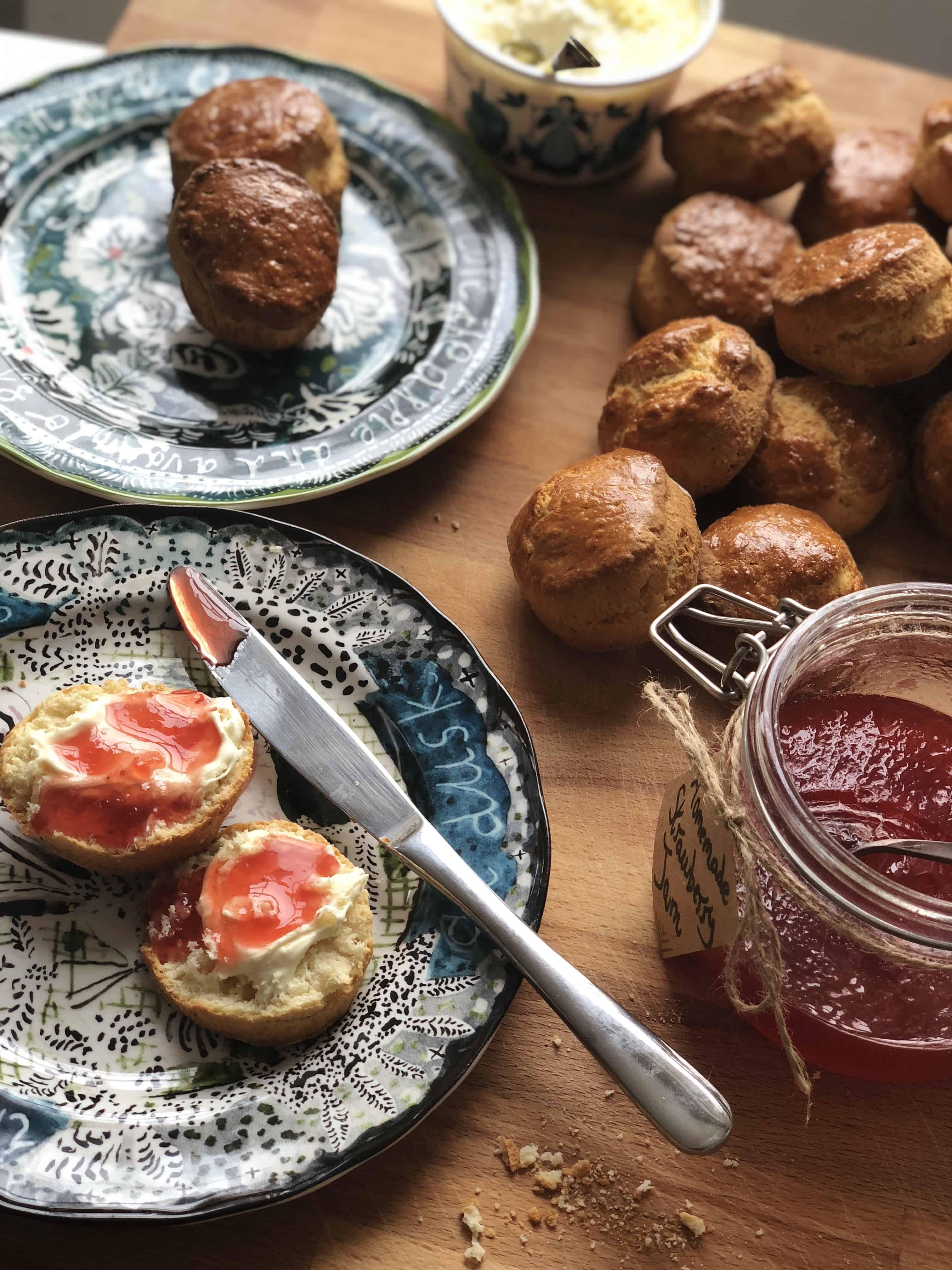 afternoon tea scones
