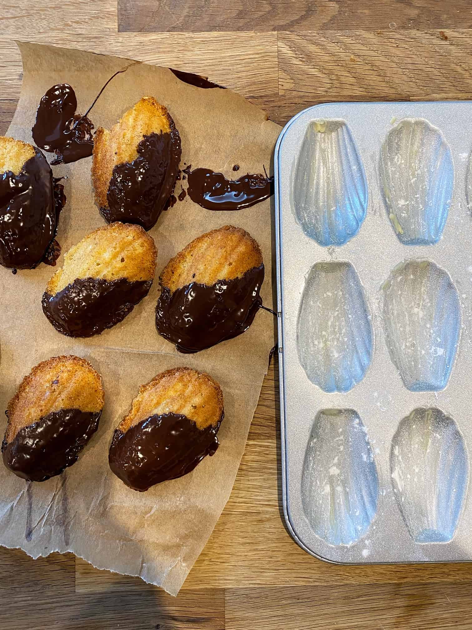sourdough madelines