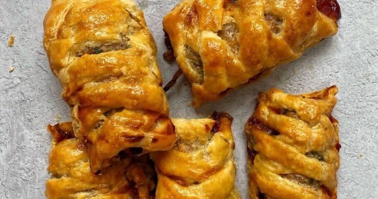Plaited Sausage Rolls