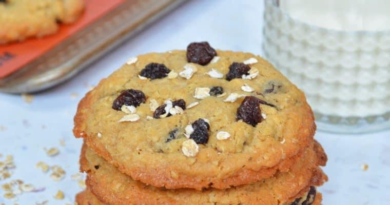 Peanut Oatmeal Raisin Cookies