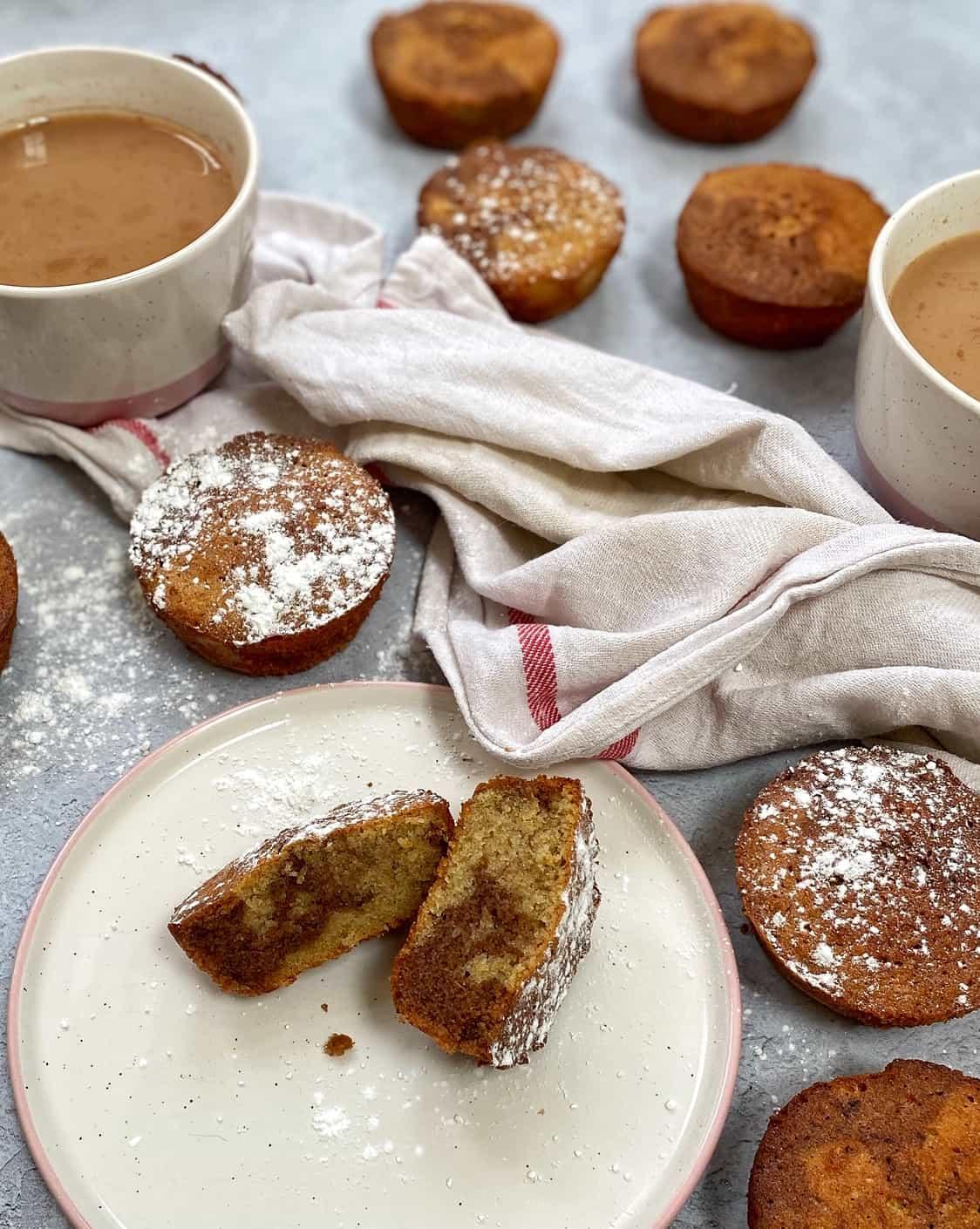 coffee cardamom teacakes
