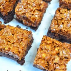 cornflake brownies