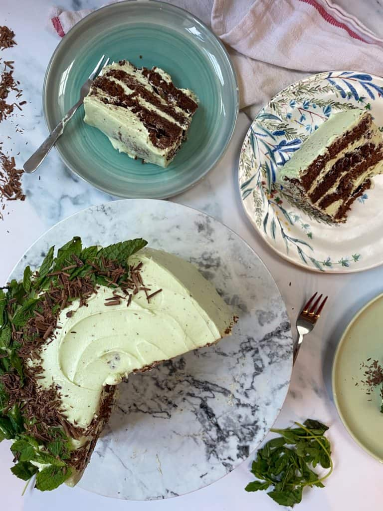 vertical cake