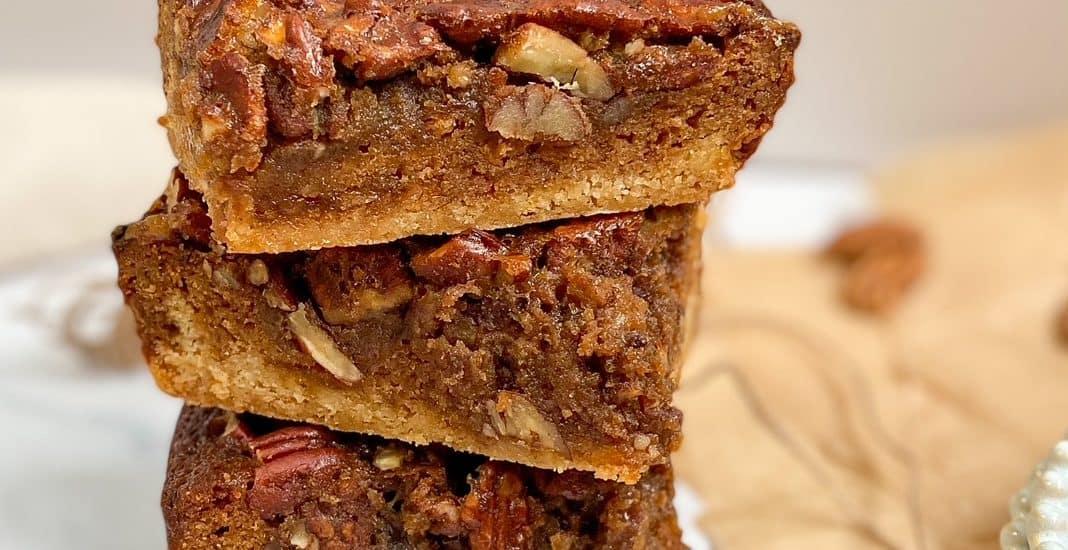 Cinnamon Pecan Pie Bars