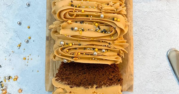 Bourbon, Rye & Butterscotch Loaf Cake