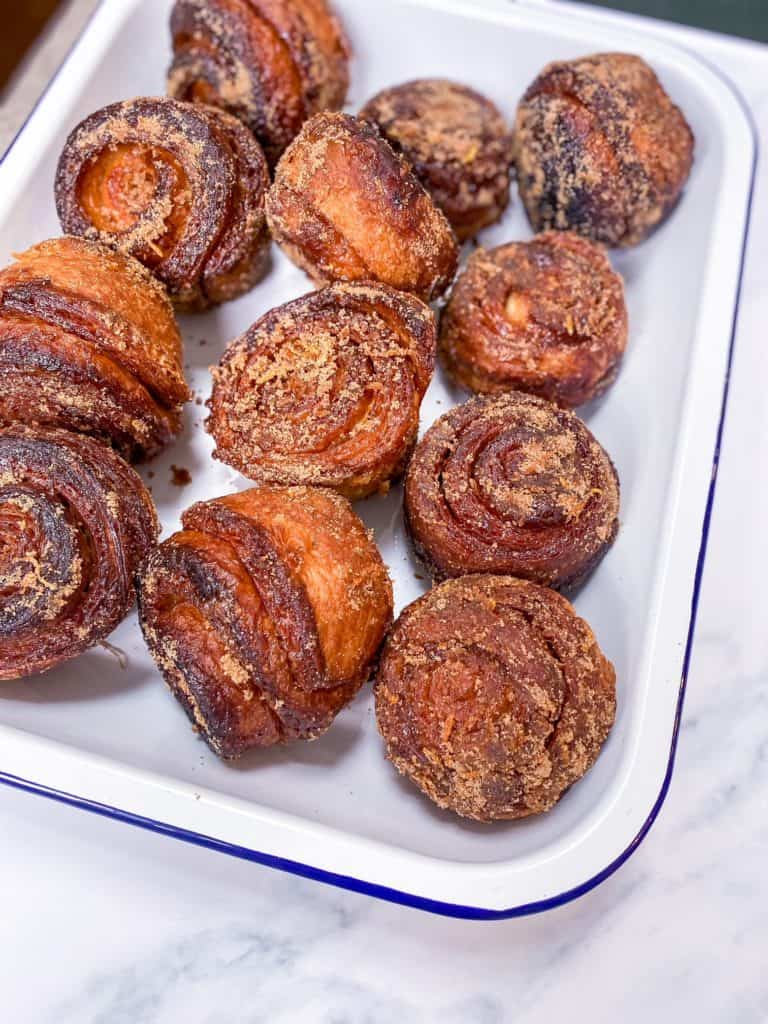 christmas spiced morning buns
