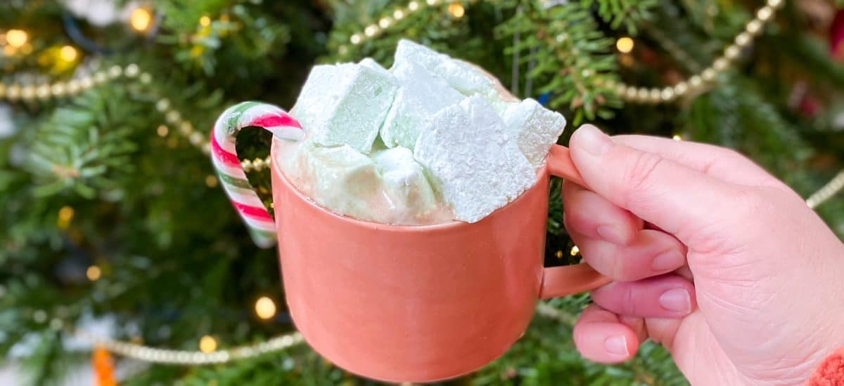 Edible Christmas Gifts: Peppermint Marshmallows