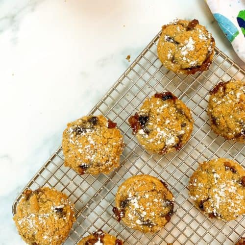 easy crumble mince pies