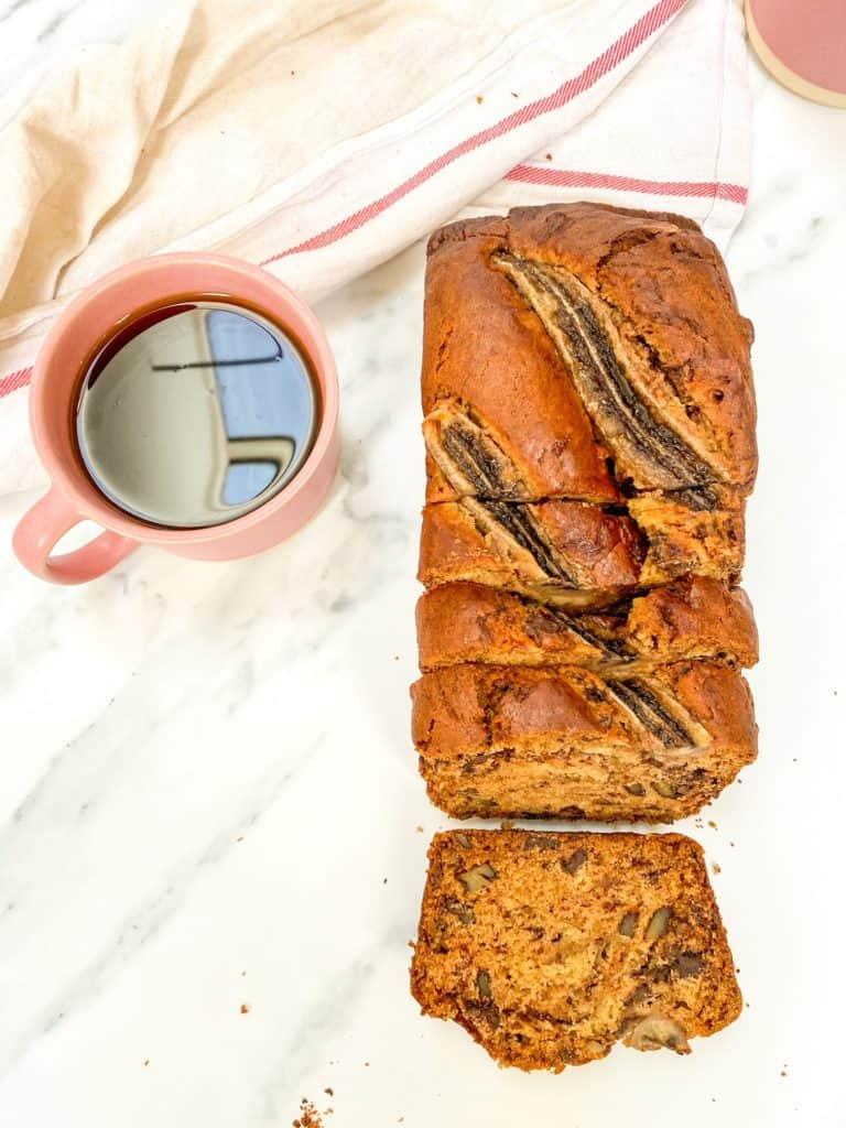biscoff banana bread