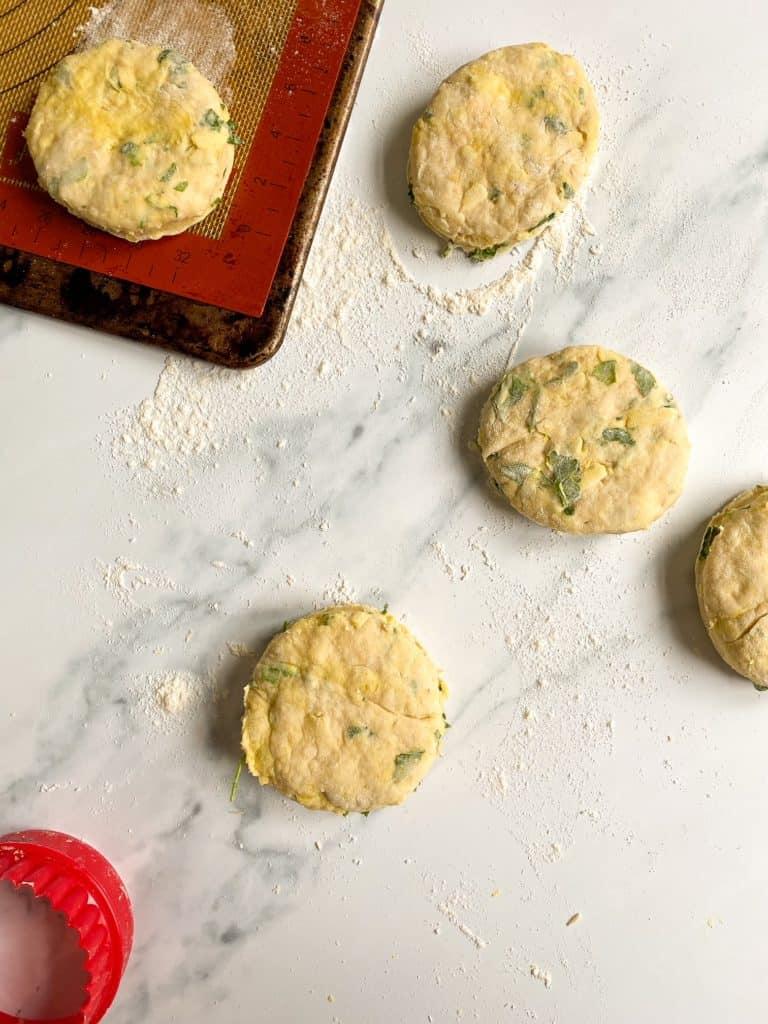 welsh rarebit scones dough