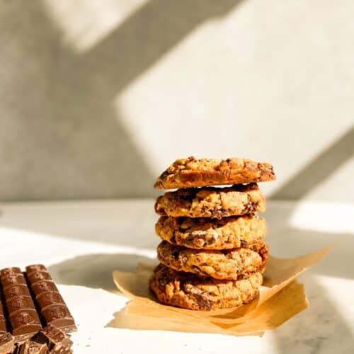 caramel cornflake cookies