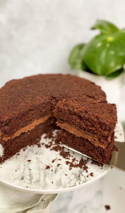 Classic Easy Double Chocolate Cake