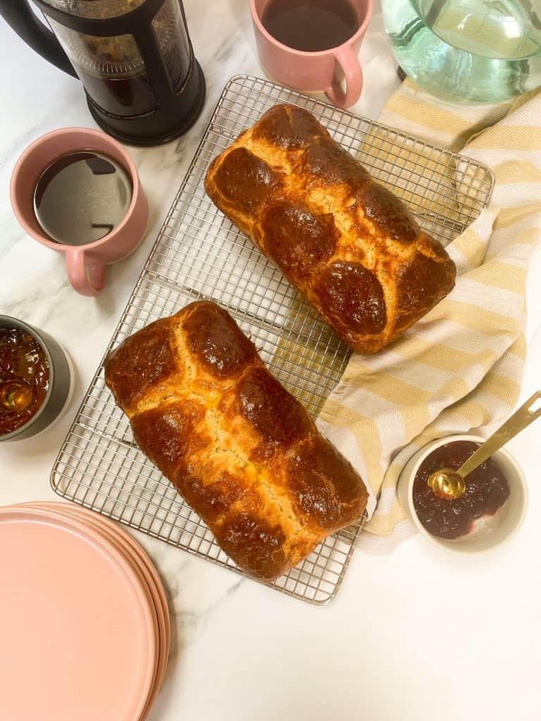 easy brioche loaf