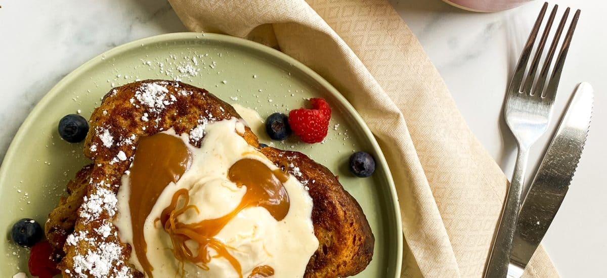 Quick & Easy Cinnamon Brioche French Toast