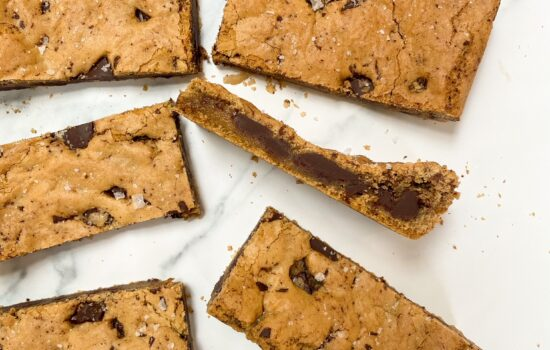 Browned Butter Chocolate Chip Cookie Bars