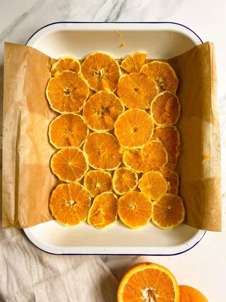 orange slices cake