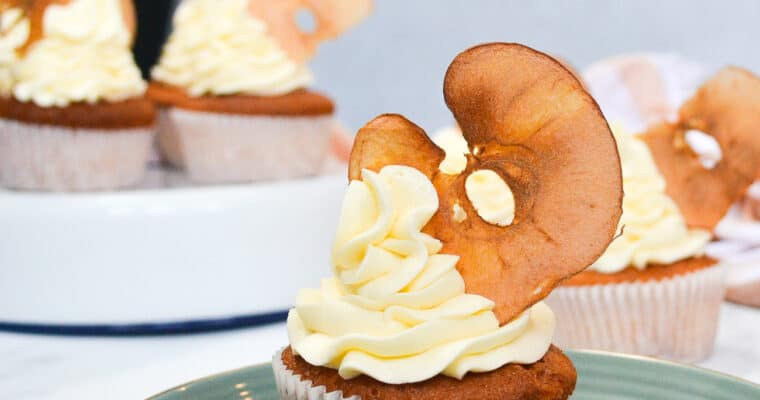 Honey Apple Cupcakes